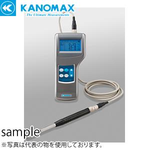 日本カノマックス 6501-C0 クリモマスター 風速計 本体のみ アナログ出力・圧力付