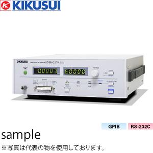 菊水電子工業 プレシジョンDCソース(CV) KDS6-0.2TR 3ch プレシジョンDCソース