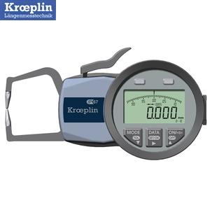 クロップリン(kroeplin) C110 デジタルオディテスト(外形測定用) 測定範囲:0-10mm