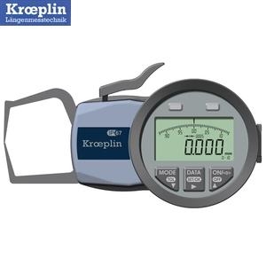 クロップリン(kroeplin) C110S デジタルオディテスト(外形測定用) 測定範囲:0-10mm