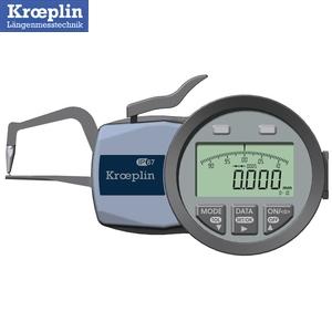 クロップリン(kroeplin) C1R10 デジタルオディテスト(肉厚測定用) 測定範囲:0-10mm