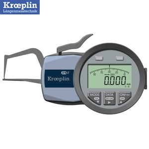 クロップリン(kroeplin) C1R10S デジタルオディテスト(肉厚測定用) 測定範囲:0-10mm