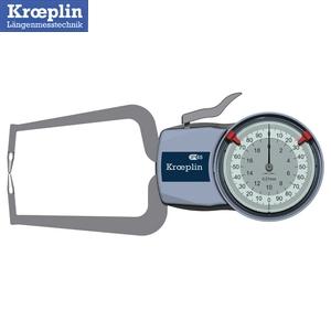 クロップリン(kroeprin) D220 アナログオディテスト(外形測定用) 測定範囲:0-20mm