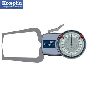 クロップリン(kroeprin) D220S アナログオディテスト(外形測定用) 測定範囲:0-20mm