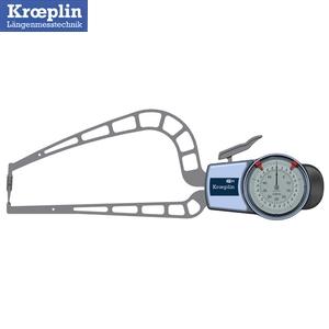 クロップリン(kroeplin) D4R50S アナログオディテスト(肉厚測定用) 測定範囲:0-50mm