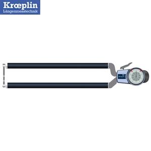 クロップリン(kroeplin) D8R100 アナログオディテスト(肉厚測定用) 測定範囲:0-100mm
