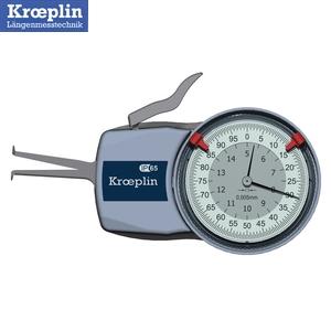 クロップリン(kroeplin) H105 アナログクイックテスト(内径測定用) 測定範囲:5-15mm