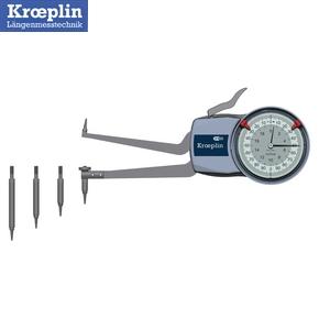 クロップリン(kroeplin) H2M50 アナログ替アンビル式インターテスト 測定範囲:50-100mm