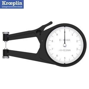 クロップリン(kroeplin) POCO2N アナログオディテスト(外形測定用) 測定範囲:0-10mm