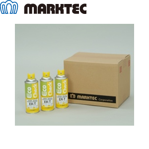 マークテック ER-T/450cc×12本入 エコチェック洗浄液/除去液 低ハロゲン・低イオウ 450型エアゾール(450cc)
