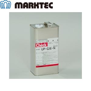 マークテック UP-GIII・N/4L スーパーチェック染色浸透液 一般 4L缶