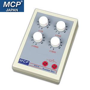 MCP ダイヤル式可変抵抗器 確度 1% 1Ω~10KΩ BXR-04