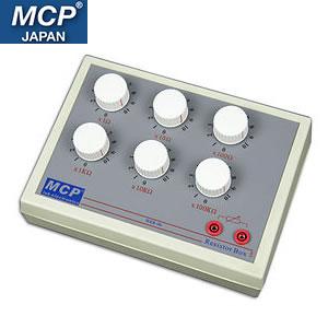 MCP ダイヤル式可変抵抗器 確度 1% 1Ω~1MΩ BXR-06