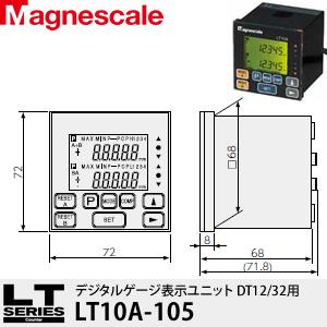 マグネスケール LT10A-105 デジタルゲージ表示ユニット