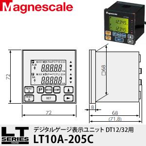 マグネスケール LT10A-205C デジタルゲージ表示ユニット