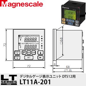 マグネスケール LT11A-201 デジタルゲージ表示ユニット