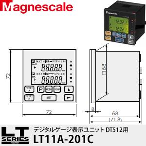 マグネスケール LT11A-201C デジタルゲージ表示ユニット