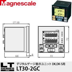 マグネスケール LT30-2GC デジタルゲージ表示ユニット