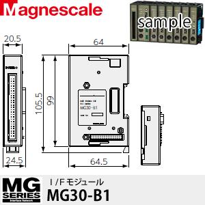 マグネスケール MG30-B2 I/Fモジュール