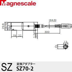 マグネスケール SZ70-2 変換アダプター