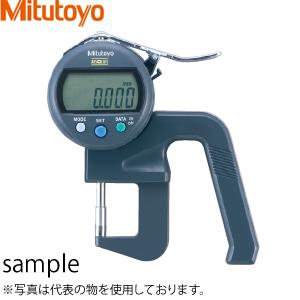 ミツトヨ(Mitutoyo) 547-401 デジマチックシックネスゲージ 高精度タイプ(最小表示量:0.001mm) 目量:0.001mm(0.01切替可)/測定範囲:0~12mm