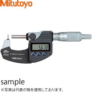 ミツトヨ(Mitutoyo) BMB4-25MX(395-264-30) デジマチック棒球面マイクロメータ 測定範囲:0~25mm