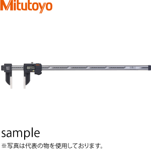 ミツトヨ(Mitutoyo) CFC-100G(552-304-10) ABSクーラントプルーフカーボンキャリパ 標準タイプ デジタルノギス 測定範囲:外側 0~1000mm/内側 20.1~1020mm