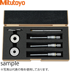 ミツトヨ(Mitutoyo) HT-12RST(368-911) ホールテスト(三点式内側マイクロメーター) セット 測定範囲:6~12mm