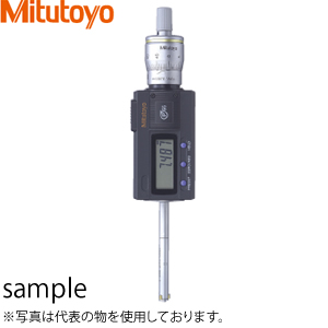 ミツトヨ(Mitutoyo) HTD-12R(468-163) デジマチックホールテストト(三点式内側マイクロメータ) 測定範囲:10~12mm