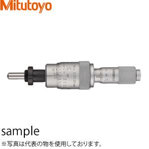 ミツトヨ(Mitutoyo) MHF2-13(110-502) マイクロメータヘッド(高機能形) 極微動用 ナット付ステム 先端球面 測定範囲:粗動0~13/微動0~0.2mm