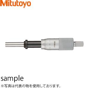 ミツトヨ(Mitutoyo) MHH2-25(151-223) マイクロメータヘッド(標準形) スピンドルφ8mmタイプ ナット付ステム 先端平面 ラチェット・バーニヤ付 測定範囲:0~25mm