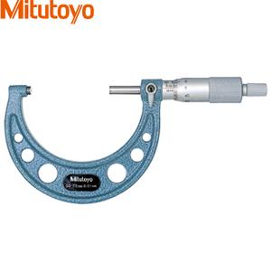 ミツトヨ(Mitutoyo) OM-75(103-139) アナログ標準外側マイクロメータ 測定範囲:50~75mm