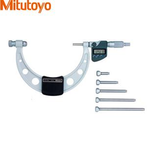 ミツトヨ(Mitutoyo) OMC-150MX(340-251-30) デジマチック替アンビル式外側マイクロメータ 校正証明書付き