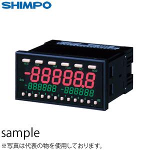 日本電産シンポ DT-5TVAR-FVTR-BCDR パネル型デジタル回転速度計(差動入力/AC電源仕様)