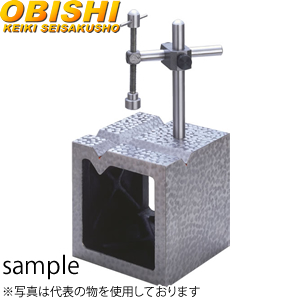 大菱計器 JK303 鋳鉄V溝付桝形VブロックB級