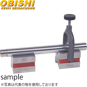 大菱計器 JM103 硬鋼製クランプツキVブロック