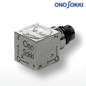 小野測器 NP-3560B 3軸プリアンプ内蔵型加速度検出器 感度:1.02mV/(m/s2)