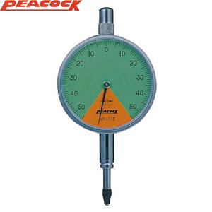尾崎製作所(PEACOCK) 117ZL 指針1回転未満ダイヤルゲージ 耳金付裏ぶたタイプ
