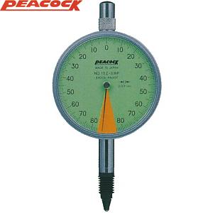 尾崎製作所(PEACOCK) 15Z-SWFL 指針1回転未満ダイヤルゲージ 耳金付裏ぶたタイプ