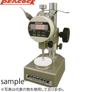 尾崎製作所(PEACOCK) FFD-8 定圧厚み測定器 デジタルタイプ