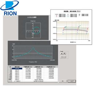 リオン(RION) AS-14PA5 損失係数測定ソフト