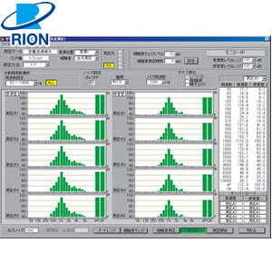 リオン(RION) AS-20PC5 空気音・床衝撃音遮断性能測定ソフト