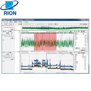 リオン(RION) AS-60 環境計測データ管理ソフトウェア