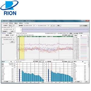 リオン(RION) AS-60RT 環境計測データ管理ソフトウェア