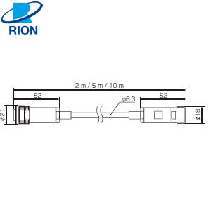 (RION) リオン 廃番 NC-98C ACアダプタ