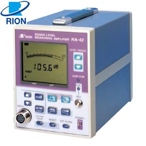 リオン(RION) NA-42 音圧レベル計測アンプ (マイクロホンなしタイプ)