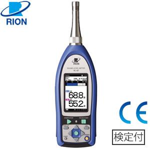 リオン(RION) NL-62K 精密騒音計(低周波音測定機能付) 検定付