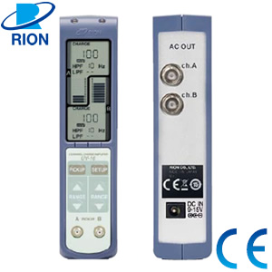 リオン(RION) UV-16 2チャンネルチャージアンプ