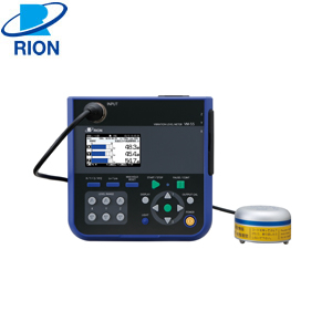 【使い勝手の良い】 振動レベル計 VM-55EXK リオン(RION) (EX付/検定付):セミプロDIY店ファースト-DIY・工具