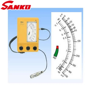 サンコウ電子 Pro-1 電磁式膜厚計 アナログタイプ 1極式プローブ